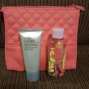 Estee Lauder cosmetic bag bundle
